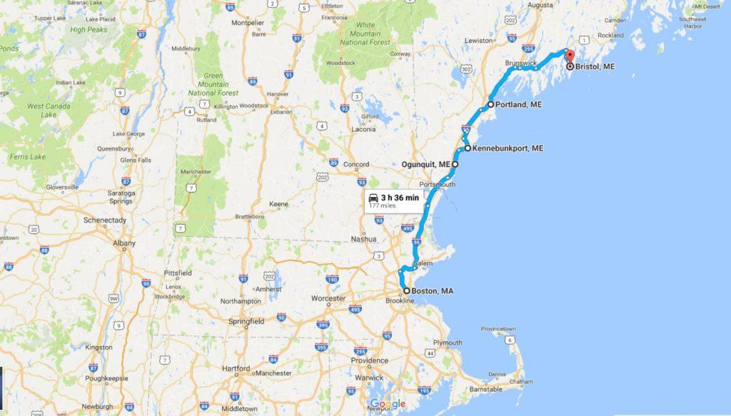 2016-07-31 16_05_27-Boston, MA to Bristol, ME - Google Maps